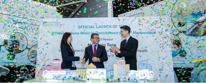 NHGD LAUNCH OF MOBILE DIAGNOSTIC VEHICLES