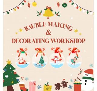 Bauble Making & Decorating Workshop