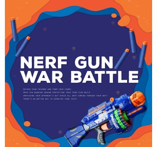 Nerf War Battle